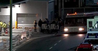 Ein Flug aus Heathrow ist am Abend noch auf dem Flughafen Hannover gelandet. Foto: Fernando Martinez/TNN/dpa