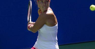 Angelique Kerber hat seit Ende September kein Turnier mehr gespielt. Foto: Seth Wenig/AP/dpa