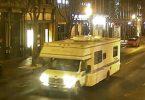 Der Wohnwagen, der mutmaßlich an der vorsätzlichen Explosion beteiligt war. Foto: Uncredited/Metro Nashville PD/dpa