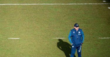Gibt nach fast zehn Jahren als Coach des FC Schalke 04 sein Comeback in Deutschlands Eliteliga: Christian Gross. Foto: Fabian Strauch/dpa
