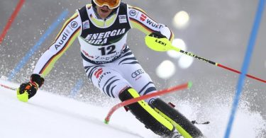 Siegte im Slalom in Zagreb: Linus Straßer. Foto: Marco Trovati/AP/dpa