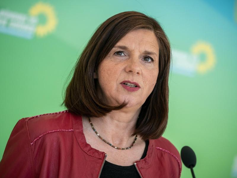 Katrin Göring-Eckardt ist Fraktionsvorsitzende von Bündnis 90/Die Grünen. Foto: Michael Kappeler/dpa