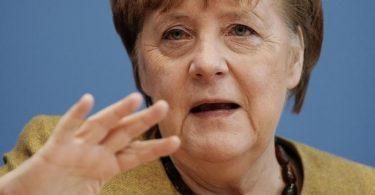 Bundeskanzlerin Angela Merkel (CDU) hat dem neuen US-Präsidenten Joe Biden ein stärkeres, auch militärisches Engagement Deutschlands und Europas in internationalen Fragen versprochen. Foto: Michael Kappeler/dpa POOL/dpa