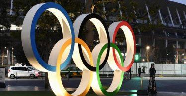 Klappt das:Olympischen Spiele trotz Corona-Pandemie?. Foto: -/kyodo/dpa