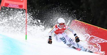 Nur 23. beim Super-G in Garmisch-Partenkirchen: Kira Weidle. Foto: Angelika Warmuth/dpa