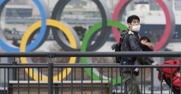 Olympia-Teilnehmer müssen sich bei den Sommerspielen in Tokio auf eine stark eingeschränkte Bewegungsfreiheit einstellen. Foto: Koji Sasahara/AP/dpa