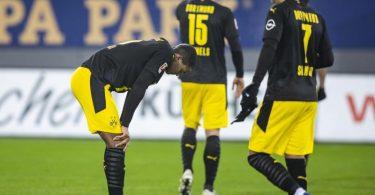 Der BVB leistete sich in Freiburg den nächsten Aussetzer. Foto: Tom Weller/dpa