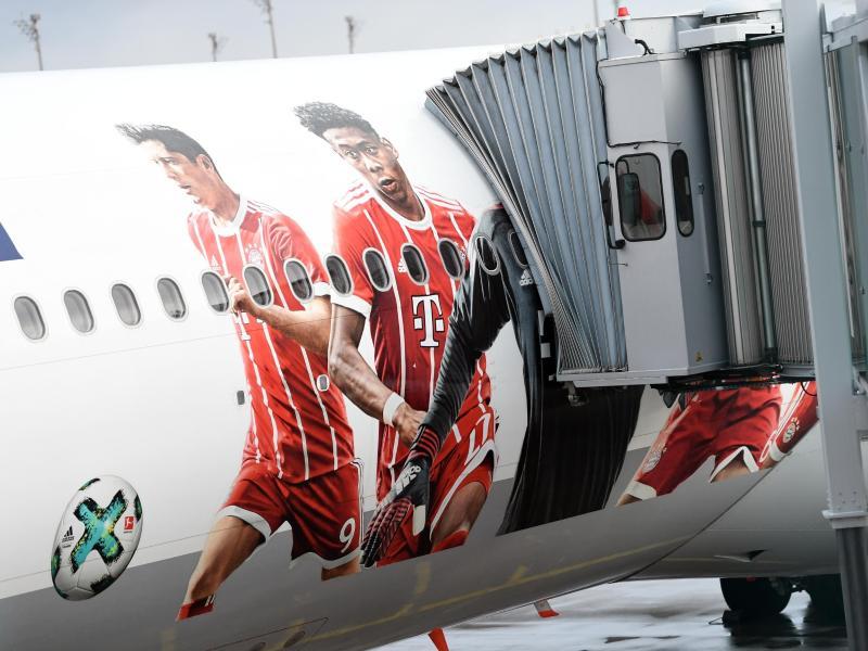 Die Deutsche Flugsicherung hatte dem Flugzeug mit dem FC Bayern an Bord keine Startfreigabe erteilt. Foto: Sven Hoppe/dpa