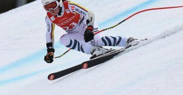 Einzige DSV-Starterin beim Super-G der Frauen bei der WM in Cortina d'Ampezzo: Kira Weidle. Foto: Angelika Warmuth/dpa