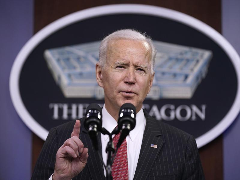 Machte dem chinesischen Staatschef Xi am Telefon klare Ansagen: US-Präsident Joe Biden. Foto: Patrick Semansky/AP/dpa
