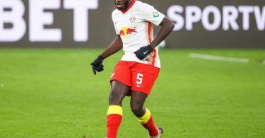 Wechselt von RB Leipzig zum FC Bayern:Dayot Upamecano. Foto: Jan Woitas/dpa-Zentralbild/dpa