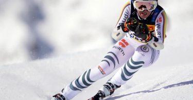 Erhofft sich eine WM-Medaille in Cortina d'Ampezzo: Kira Weidle. Foto: Michael Kappeler/dpa