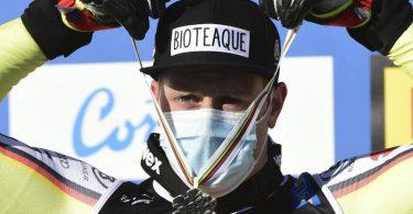 Will noch eine weitere WM-Medaille in Italien: Romed Baumann. Foto: Marco Tacca/AP/dpa