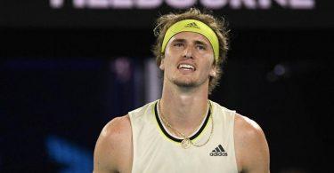 Verpasste gegen Novak Djokovic das Halbfinale bei den Australian Open:Alexander Zverev. Foto: Andy Brownbill/AP/dpa