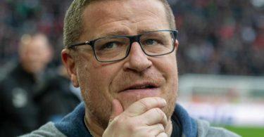 Max Eberl, Sportchef von Borussia Mönchengladbach, steht vor schweren Aufgaben. Foto: Stefan Puchner/dpa