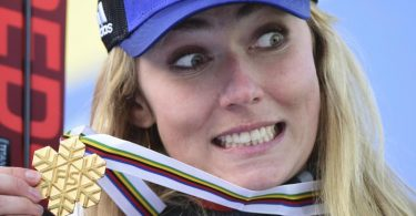 Will auch im Riesenslalom WM-Gold: Mikaela Shiffrin. Foto: Marco Tacca/Pentaphoto pool/AP/dpa