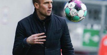 Hoffenheims Trainer Sebastian Hoeneß zeigt sich nach dem Remis gegen Molde verärgert. Foto: Uwe Anspach/Archiv/dpa