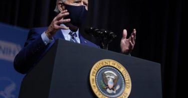US-Präsident Joe Biden erklärt sich bereit, mit den Iranern über das Atomabkommen zu sprechen. Foto: Evan Vucci/AP/dpa