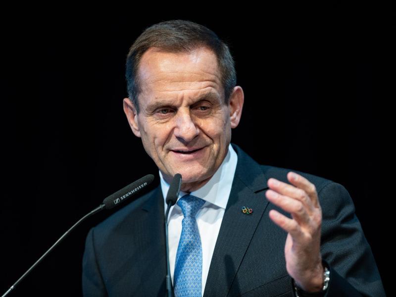 Präsident des Deutschen Olympischen Sportbundes: Alfons Hörmann. Foto: Guido Kirchner/dpa