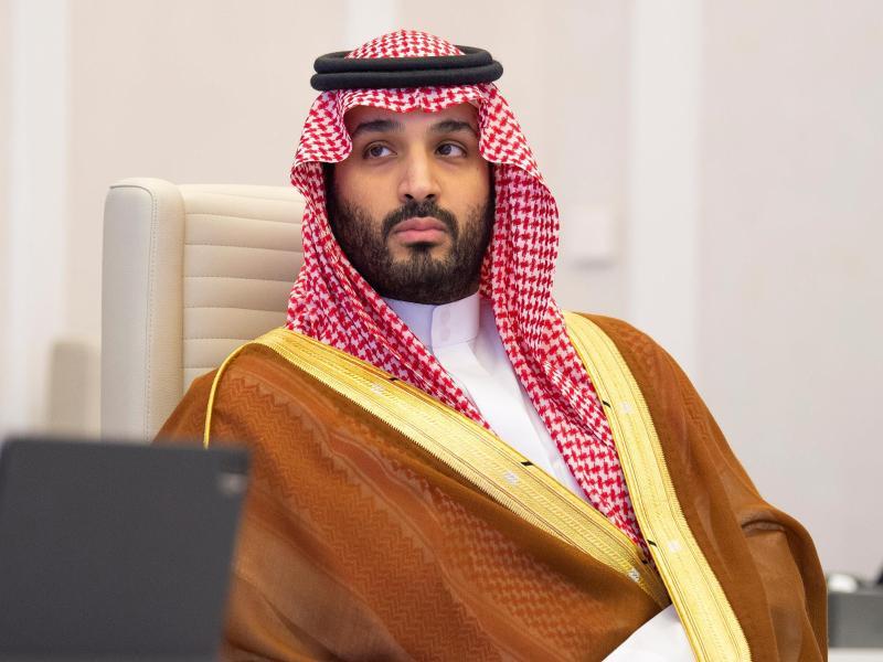 Nach US-Geheimdienstinformationen genehmigte er die Khashoggi-Operation: der saudi-arabische Kronprinz Mohammed bin Salman (hier beim G20-Gipfel im vergangenen Jahr). Foto: -/Saudi Press Agency/dpa