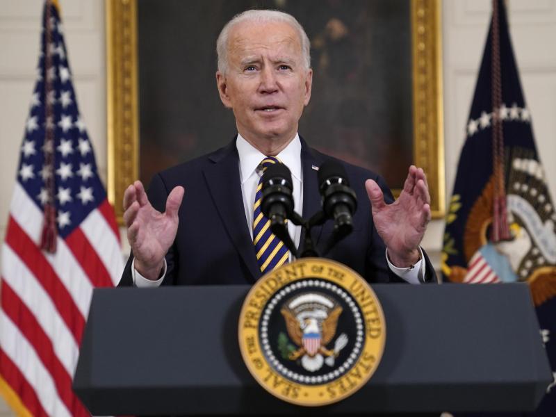 US-Präsident Joe Biden fährt gegenüber Saudi-Arabien einen anderen Kurs als sein Vorgänger Trump. Foto: Evan Vucci/AP/dpa