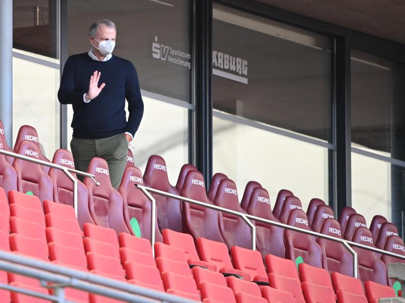 Jochen Schneider ist nicht mehr Sportvorstand des FC Schalke 04. Foto: Sebastian Gollnow/dpa