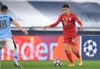 Der FC Bayern München hat Jamal Musiala (r) langfristig an sich gebunden. Foto: Giuseppe Maffia/dpa
