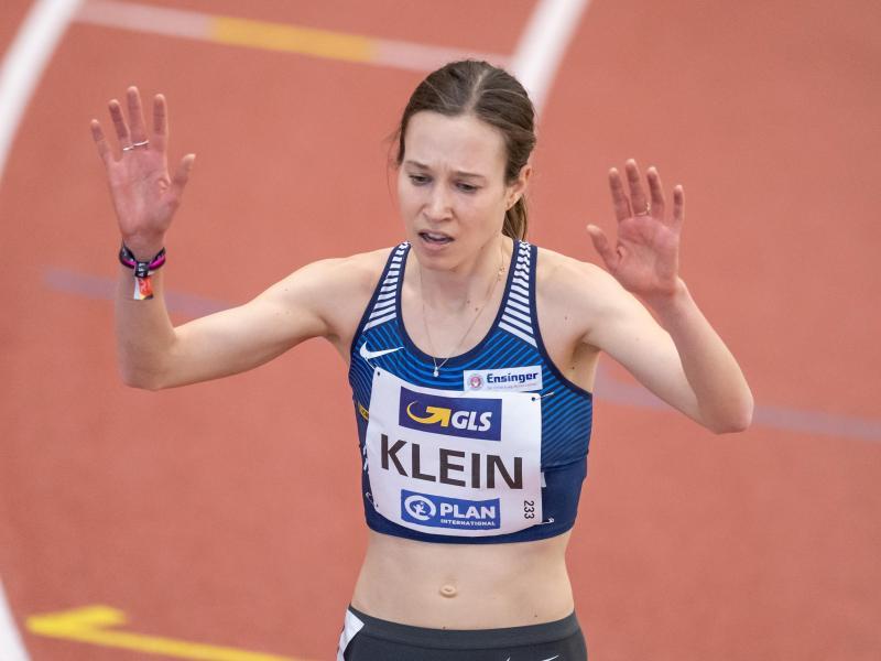 Klein hat bei der Hallen-Leichtathletik-EM die Bronzemedaille über 1500 Meter gewonnen. Foto: Bernd Thissen/dpa