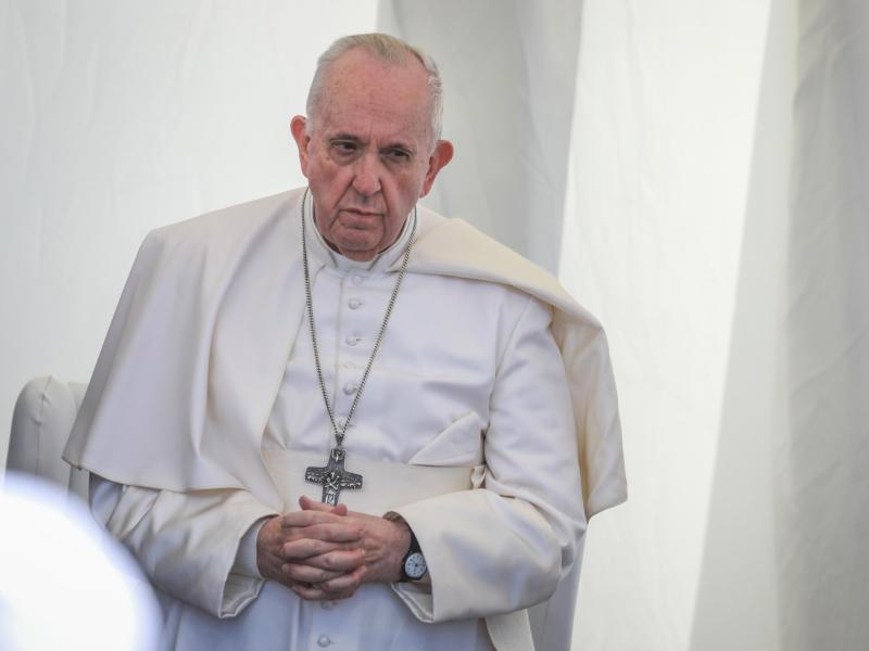 Papst Franziskus wird eine christliche Gemeinde im Nordirak besuchen. Foto: Ameer Al Mohammedaw/dpa