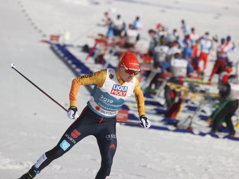 Eric Frenzel knüpfte nicht an die ganz großen Triumphe früherer Tage an. Foto: Karl-Josef Hildenbrand/dpa