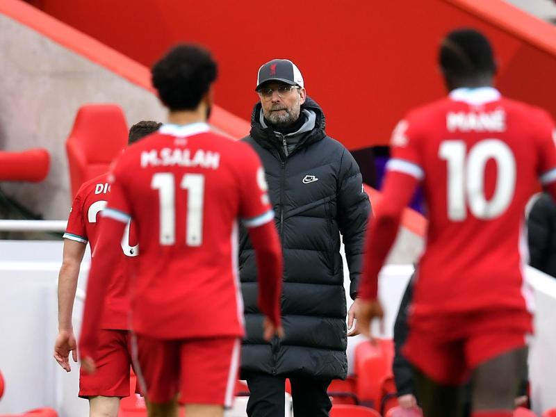 Das Team von Jürgen Klopp steckt in einer kleinen Krise. Foto: Paul Ellis/PA Wire/dpa
