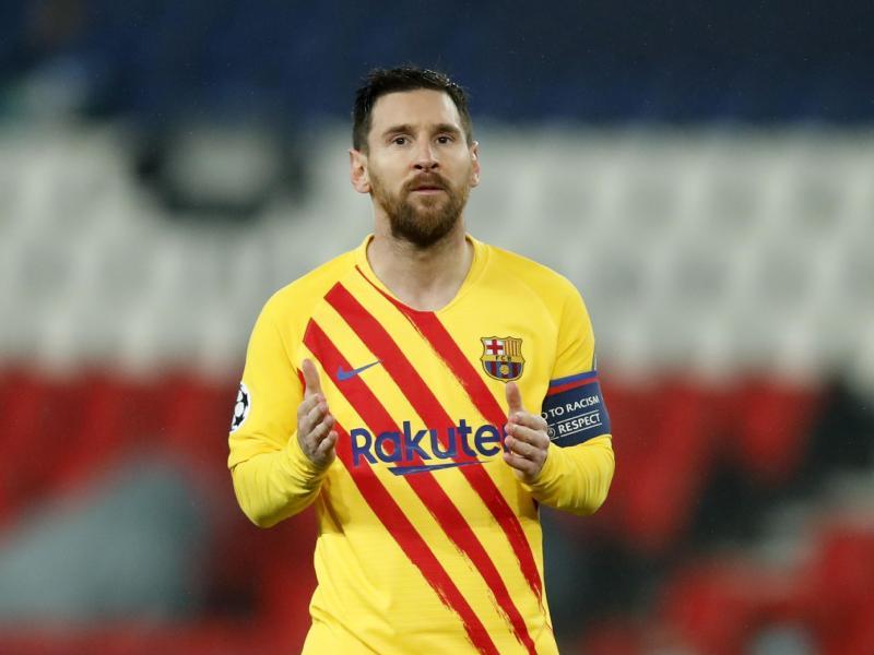 Schied mit dem FC Barcelona in der Champions League aus: Lionel Messi. Foto: Christophe Ena/AP/dpa