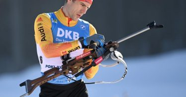 Bester Deutscher über 10 Kilometer in Tschechien: Arnd Peiffer. Foto: Sven Hoppe/dpa