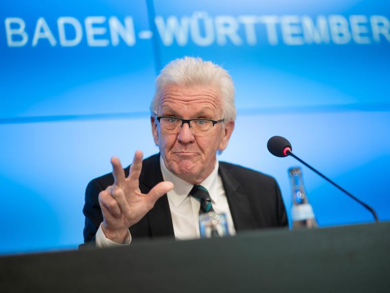 Steht vor einer dritten Amtszeit: Baden-Württembergs Ministerpräsident Winfried Kretschmann. Foto: Sebastian Gollnow/dpa