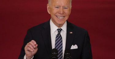 Kann angesichts des Impftempos frohe Botschaften übermitteln: US-Präsident Joe Biden. Foto: Andrew Harnik/AP/dpa