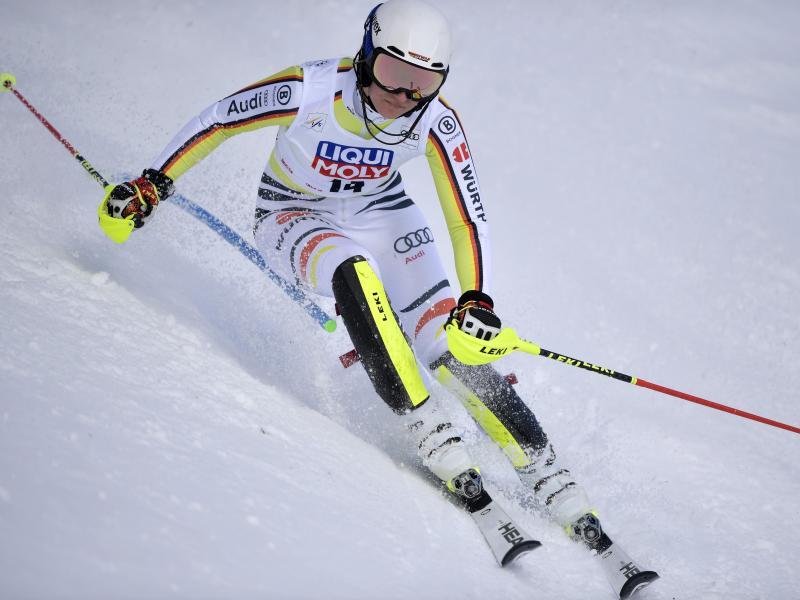 Fuhr in Are auf Platz fünf:Lena Dürr. Foto: Pontus Lundahl/TT News Agency/AP/dpa