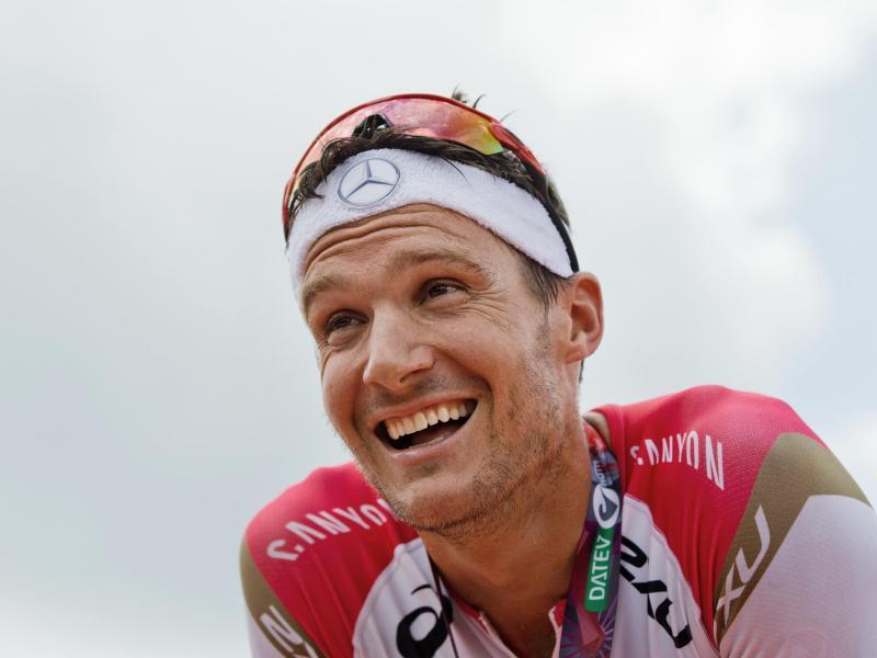 Triathlon-Star Jan Frodeno war in Miami nicht zu schlagen. Foto: Daniel Karmann/dpa