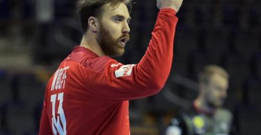 DHB-Keeper Andreas Wolff machte gegen Slowenien ein ganz starkes Spiel. Foto: Soeren Stache/dpa-Zentralbild/dpa