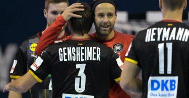 Schon ein Remis gegen Algerien reicht den deutschen Handballern für die Olympia-Qualifikation. Foto: Soeren Stache/dpa-Zentralbild/dpa