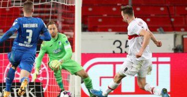 Sasa Kalajdzic (r) konnte erneut für den VfB treffen. Foto: Tom Weller/dpa
