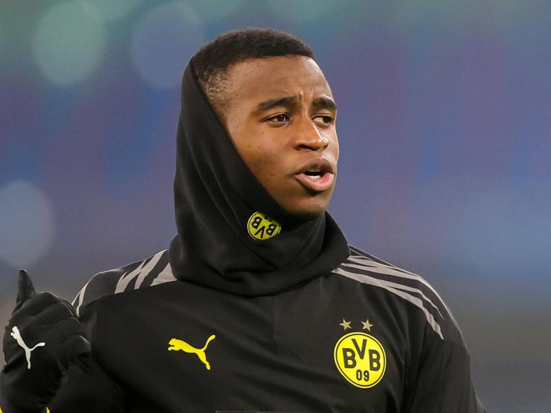 Einer von vier Neulingen im U21-Aufgebot: Dortmunds Spieler Youssoufa Moukoko. Foto: Jan Woitas/dpa-Zentralbild/dpa