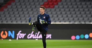 Alexander Nübel ersetzt im Bayern-Kasten den erkrankten Nationaltorhüter Manuel Neuer. Foto: Sven Hoppe/dpa