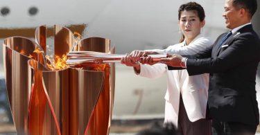 Der olympische Fackellauf startet am Donnerstag. Foto: Rodrigo Reyes Marin/ZUMA Wire/dpa