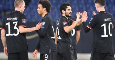 Die deutsche Nationalmannschaft hatte keine Probleme mit den Isländern. Foto: Federico Gambarini/dpa
