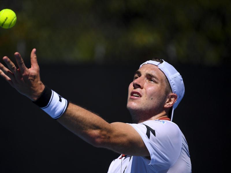 Jan-Lennard Struff ist beim Turnier in Miami an Nummer 31 gesetzt. Foto: James Ross/AAP/dpa