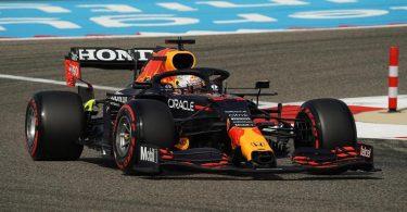 Fuhr auch im letzten Bahrain-Training die schnellste Runde: Red-Bull-Pilot Max Verstappen. Foto: Hasan Bratic/dpa