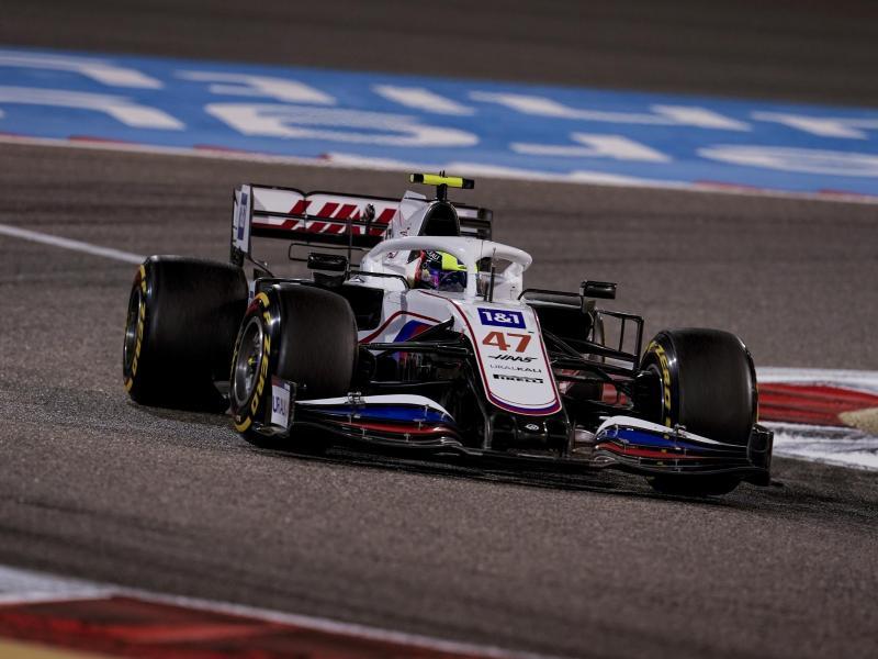 Mick Schumacher landete im schwachen Haas in Bahrain auf Platz 16. Foto: James Gasperotti/ZUMA Wire/dpa