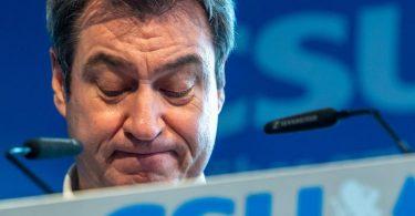 «Die Corona-Zahlen steigen und die Unionswerte fallen»: Markus Söder, CSU-Parteichef und Ministerpräsident von Bayern. Foto: Peter Kneffel/dpa