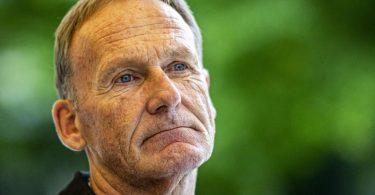 Hat seinen Vertrag beim BVB doch verlängert: Geschäftsführer Hans-Joachim Watzke. Foto: David Inderlied/dpa