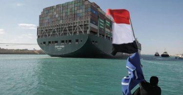 Die «Ever Given» blockierte tagelang den Suezkanal. Foto: -/Suez Canal Authority/dpa